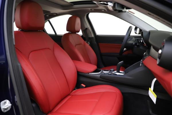 New 2020 Alfa Romeo Giulia Ti Q4 for sale $47,795 at Bentley Greenwich in Greenwich CT 06830 21