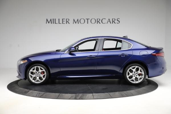New 2020 Alfa Romeo Giulia Ti Q4 for sale Sold at Bentley Greenwich in Greenwich CT 06830 3