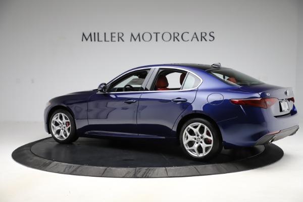 New 2020 Alfa Romeo Giulia Ti Q4 for sale $47,795 at Bentley Greenwich in Greenwich CT 06830 4