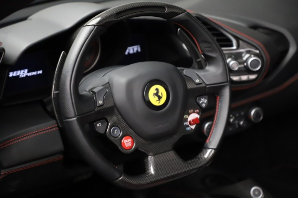 Used 2017 Ferrari 488 Spider for sale $276,900 at Bentley Greenwich in Greenwich CT 06830 26