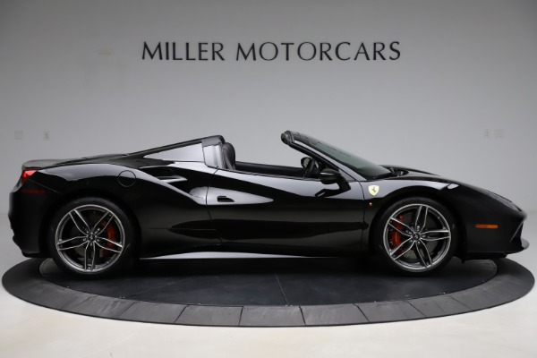 Used 2017 Ferrari 488 Spider for sale $276,900 at Bentley Greenwich in Greenwich CT 06830 9