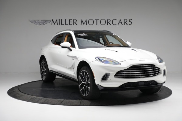 New 2021 Aston Martin DBX for sale $211,636 at Bentley Greenwich in Greenwich CT 06830 10