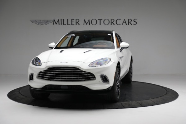 New 2021 Aston Martin DBX for sale $211,636 at Bentley Greenwich in Greenwich CT 06830 12