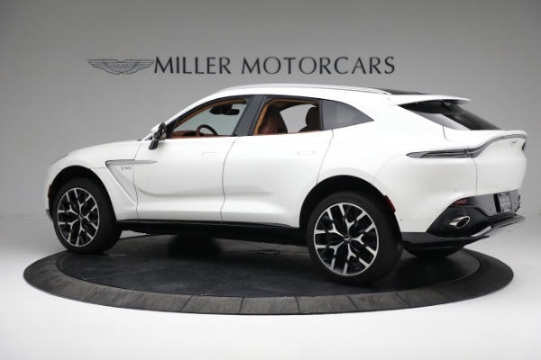 New 2021 Aston Martin DBX for sale $211,636 at Bentley Greenwich in Greenwich CT 06830 3