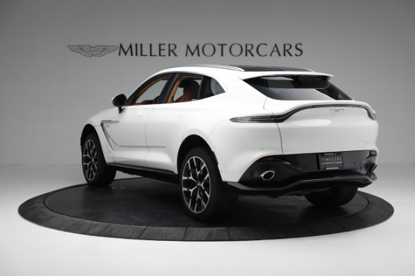 New 2021 Aston Martin DBX for sale $211,636 at Bentley Greenwich in Greenwich CT 06830 4