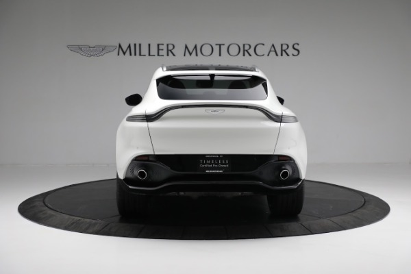 New 2021 Aston Martin DBX for sale $211,636 at Bentley Greenwich in Greenwich CT 06830 5