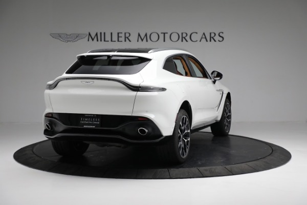 New 2021 Aston Martin DBX for sale $211,636 at Bentley Greenwich in Greenwich CT 06830 6