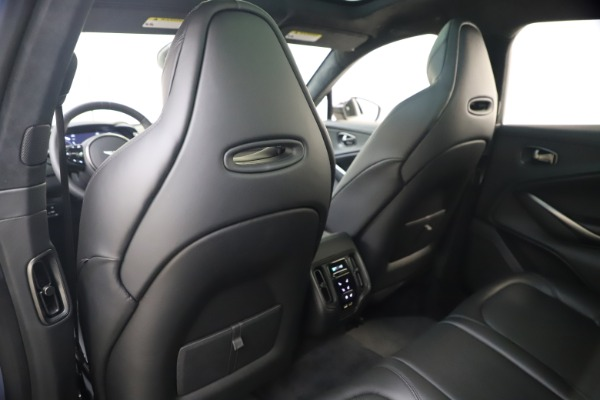 New 2021 Aston Martin DBX for sale Sold at Bentley Greenwich in Greenwich CT 06830 17
