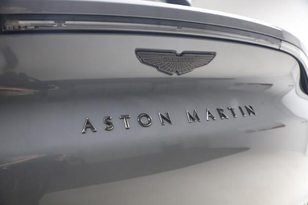 New 2021 Aston Martin DBX SUV for sale $194,486 at Bentley Greenwich in Greenwich CT 06830 22