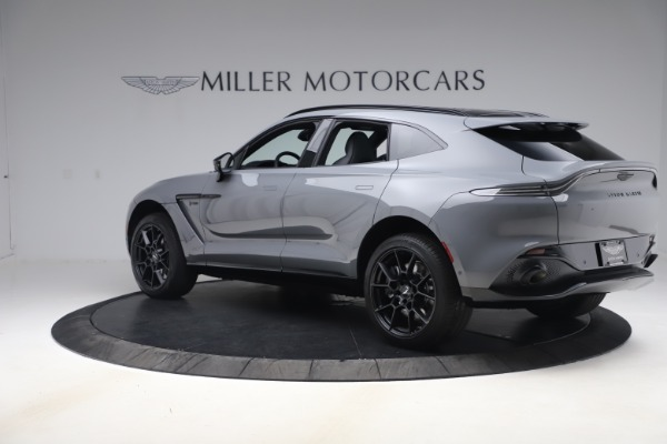 New 2021 Aston Martin DBX SUV for sale $194,486 at Bentley Greenwich in Greenwich CT 06830 3