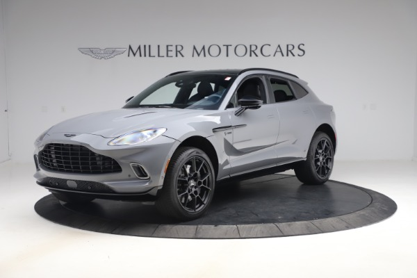 New 2021 Aston Martin DBX for sale $194,486 at Bentley Greenwich in Greenwich CT 06830 1