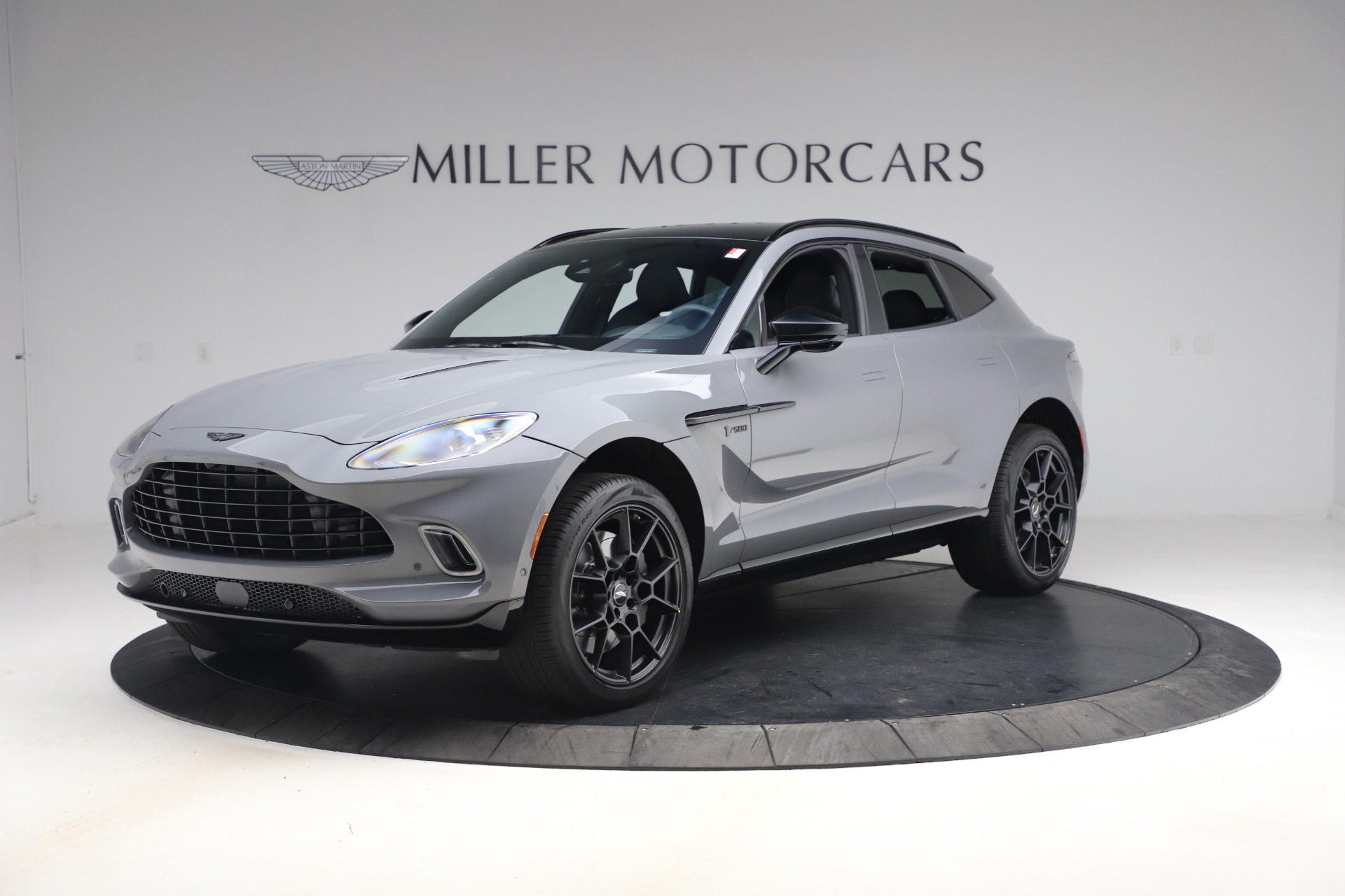 New 2021 Aston Martin DBX SUV for sale $194,486 at Bentley Greenwich in Greenwich CT 06830 1