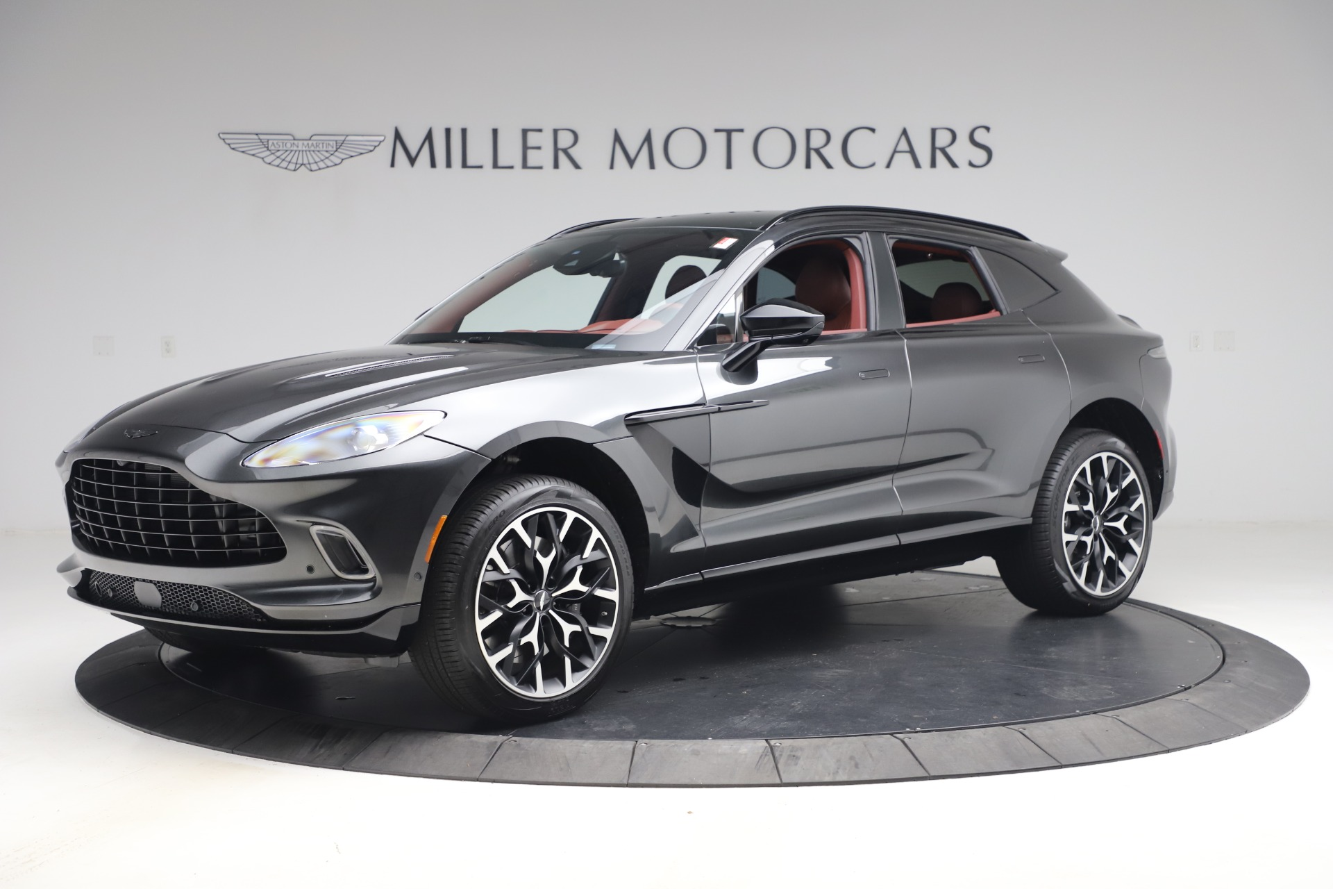New 2021 Aston Martin DBX for sale $224,886 at Bentley Greenwich in Greenwich CT 06830 1