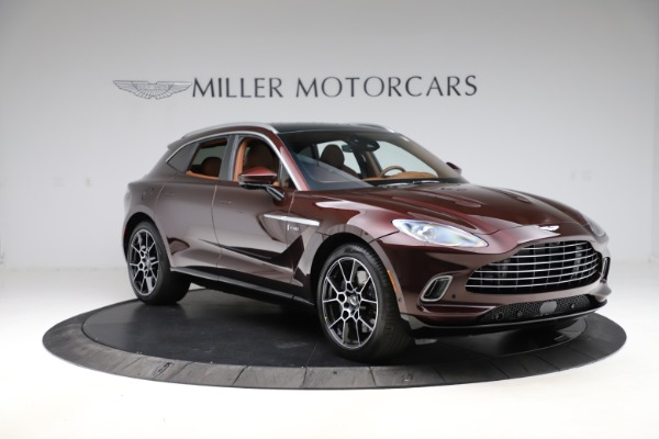 New 2021 Aston Martin DBX for sale $226,836 at Bentley Greenwich in Greenwich CT 06830 10