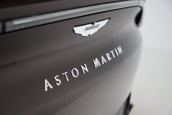 New 2021 Aston Martin DBX for sale $226,836 at Bentley Greenwich in Greenwich CT 06830 24