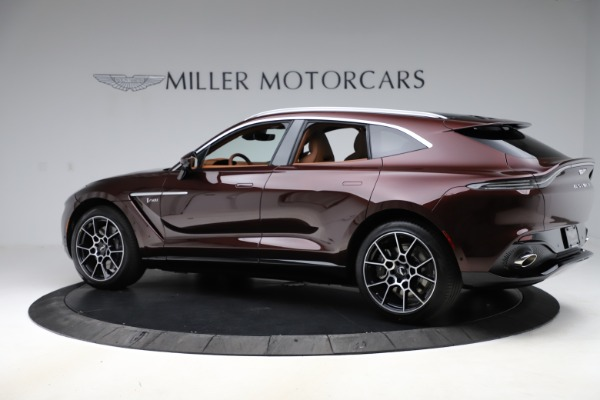 New 2021 Aston Martin DBX for sale $226,836 at Bentley Greenwich in Greenwich CT 06830 3