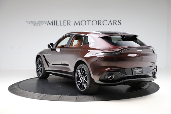New 2021 Aston Martin DBX for sale $226,836 at Bentley Greenwich in Greenwich CT 06830 4