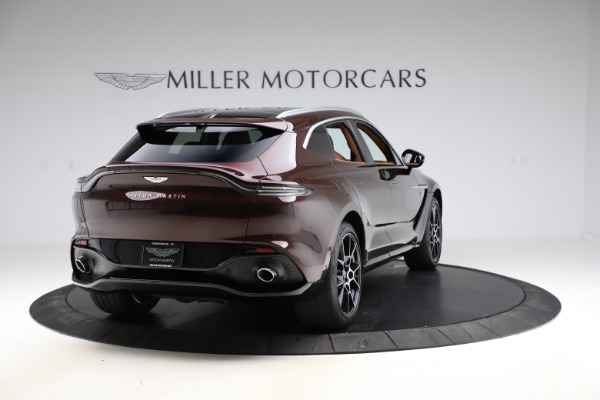 New 2021 Aston Martin DBX for sale $226,836 at Bentley Greenwich in Greenwich CT 06830 6