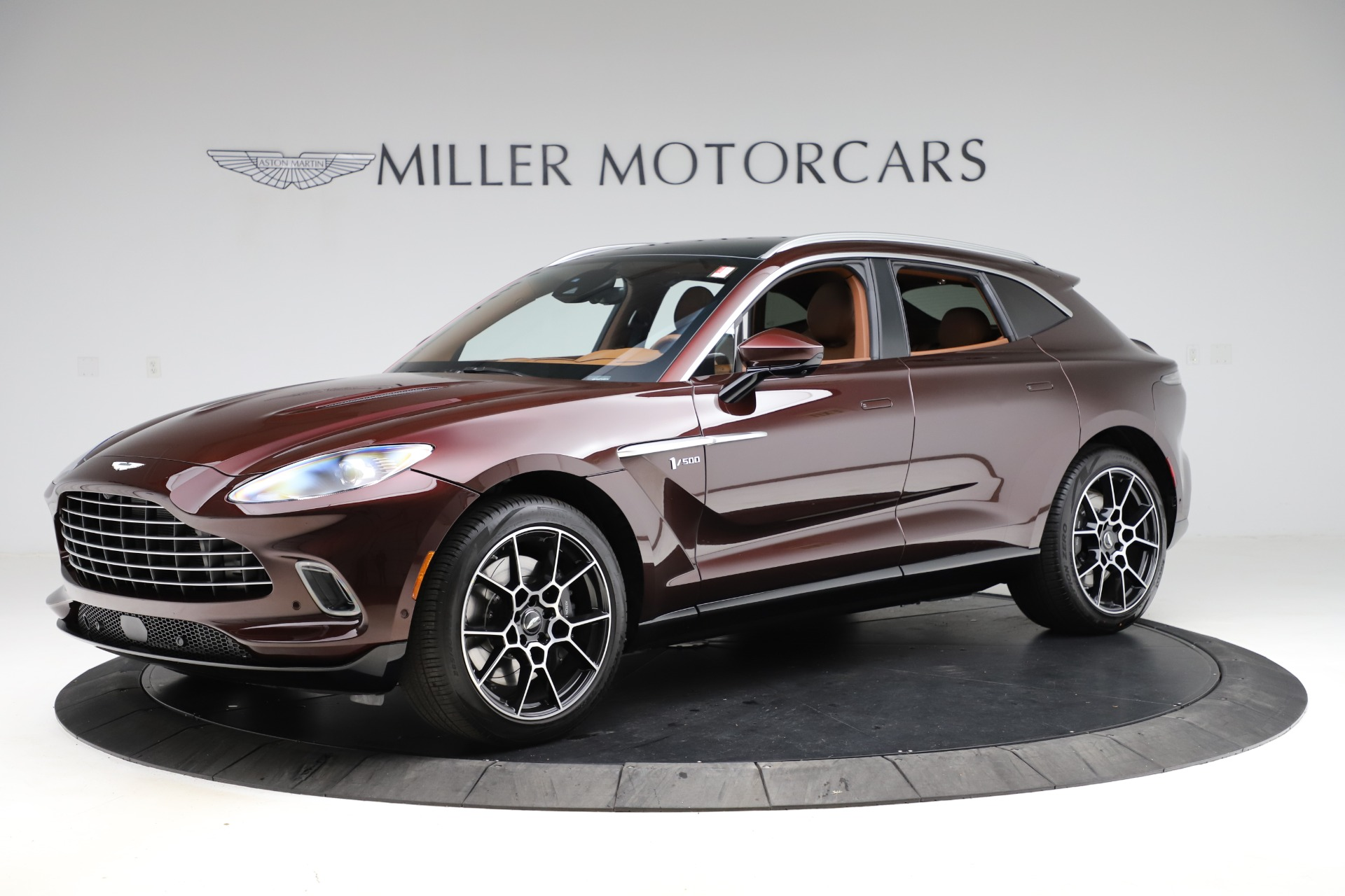 New 2021 Aston Martin DBX for sale $226,836 at Bentley Greenwich in Greenwich CT 06830 1