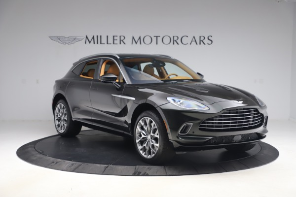 New 2021 Aston Martin DBX for sale $212,886 at Bentley Greenwich in Greenwich CT 06830 10