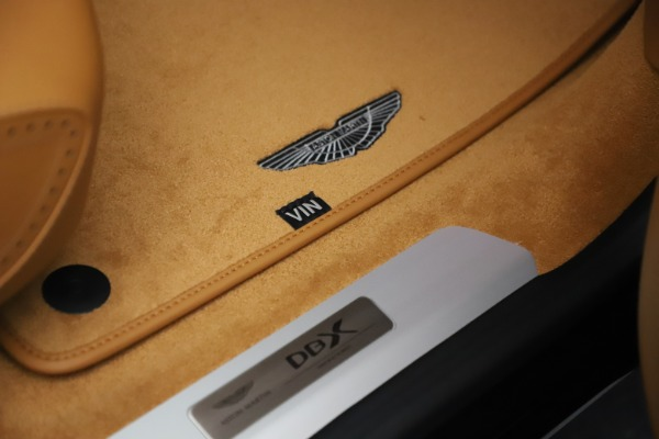 New 2021 Aston Martin DBX for sale Sold at Bentley Greenwich in Greenwich CT 06830 25