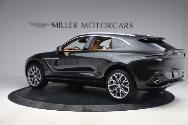 New 2021 Aston Martin DBX for sale $212,886 at Bentley Greenwich in Greenwich CT 06830 3