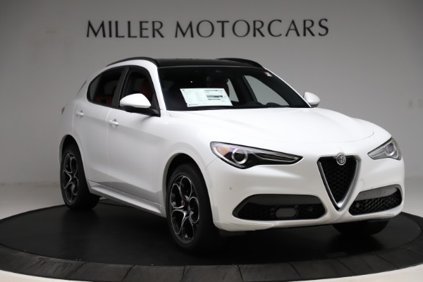 New 2020 Alfa Romeo Stelvio Ti Sport Q4 for sale $57,245 at Bentley Greenwich in Greenwich CT 06830 11