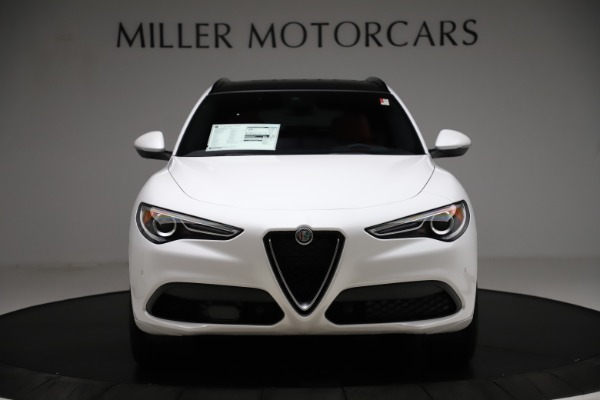 New 2020 Alfa Romeo Stelvio Ti Sport Q4 for sale $57,245 at Bentley Greenwich in Greenwich CT 06830 12
