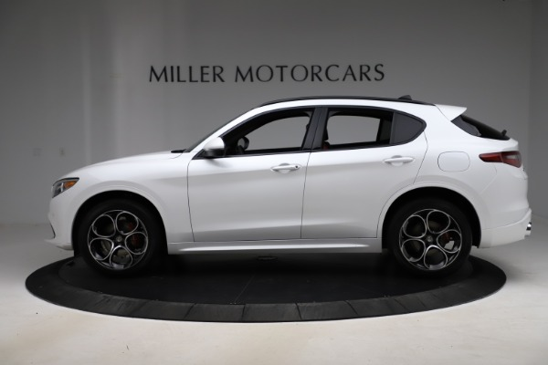 New 2020 Alfa Romeo Stelvio Ti Sport Q4 for sale $57,245 at Bentley Greenwich in Greenwich CT 06830 3