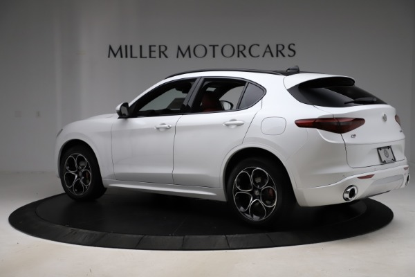 New 2020 Alfa Romeo Stelvio Ti Sport Q4 for sale $57,245 at Bentley Greenwich in Greenwich CT 06830 4