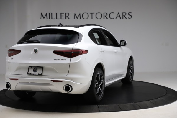 New 2020 Alfa Romeo Stelvio Ti Sport Q4 for sale $57,245 at Bentley Greenwich in Greenwich CT 06830 7