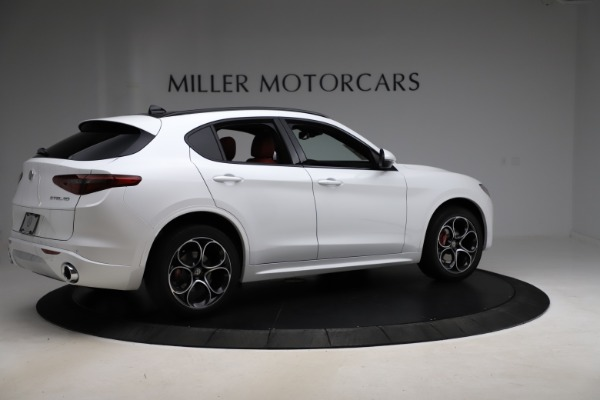 New 2020 Alfa Romeo Stelvio Ti Sport Q4 for sale $57,245 at Bentley Greenwich in Greenwich CT 06830 8