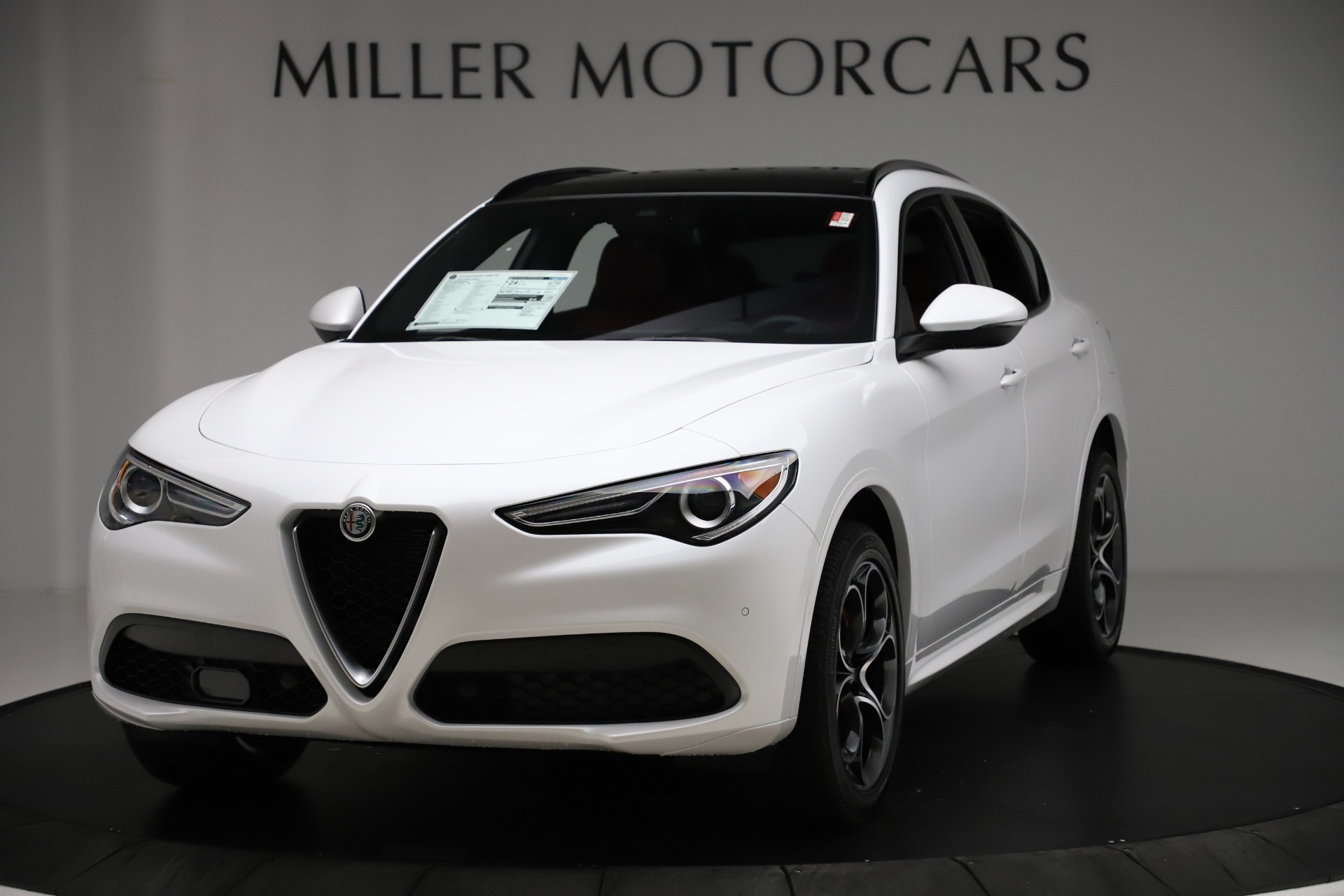New 2020 Alfa Romeo Stelvio Ti Sport Q4 for sale $57,245 at Bentley Greenwich in Greenwich CT 06830 1