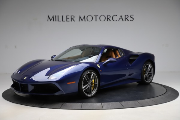 Used 2018 Ferrari 488 Spider for sale Sold at Bentley Greenwich in Greenwich CT 06830 13