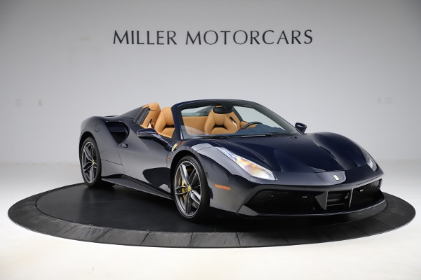 Used 2018 Ferrari 488 Spider for sale Call for price at Bentley Greenwich in Greenwich CT 06830 11