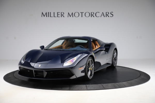 Used 2018 Ferrari 488 Spider for sale Call for price at Bentley Greenwich in Greenwich CT 06830 13
