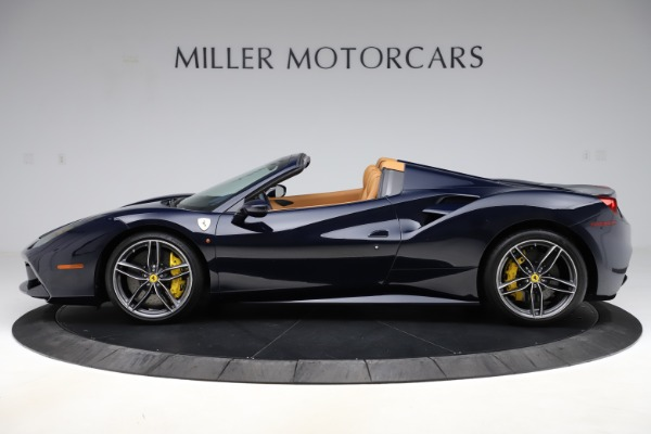 Used 2018 Ferrari 488 Spider for sale Call for price at Bentley Greenwich in Greenwich CT 06830 3