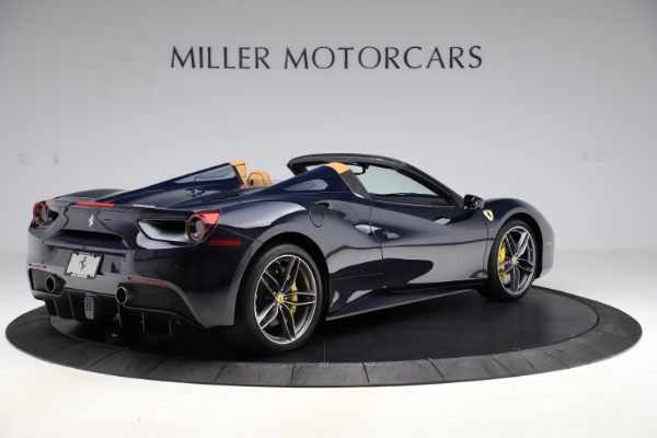 Used 2018 Ferrari 488 Spider for sale Call for price at Bentley Greenwich in Greenwich CT 06830 8