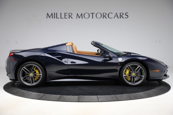 Used 2018 Ferrari 488 Spider for sale Call for price at Bentley Greenwich in Greenwich CT 06830 9