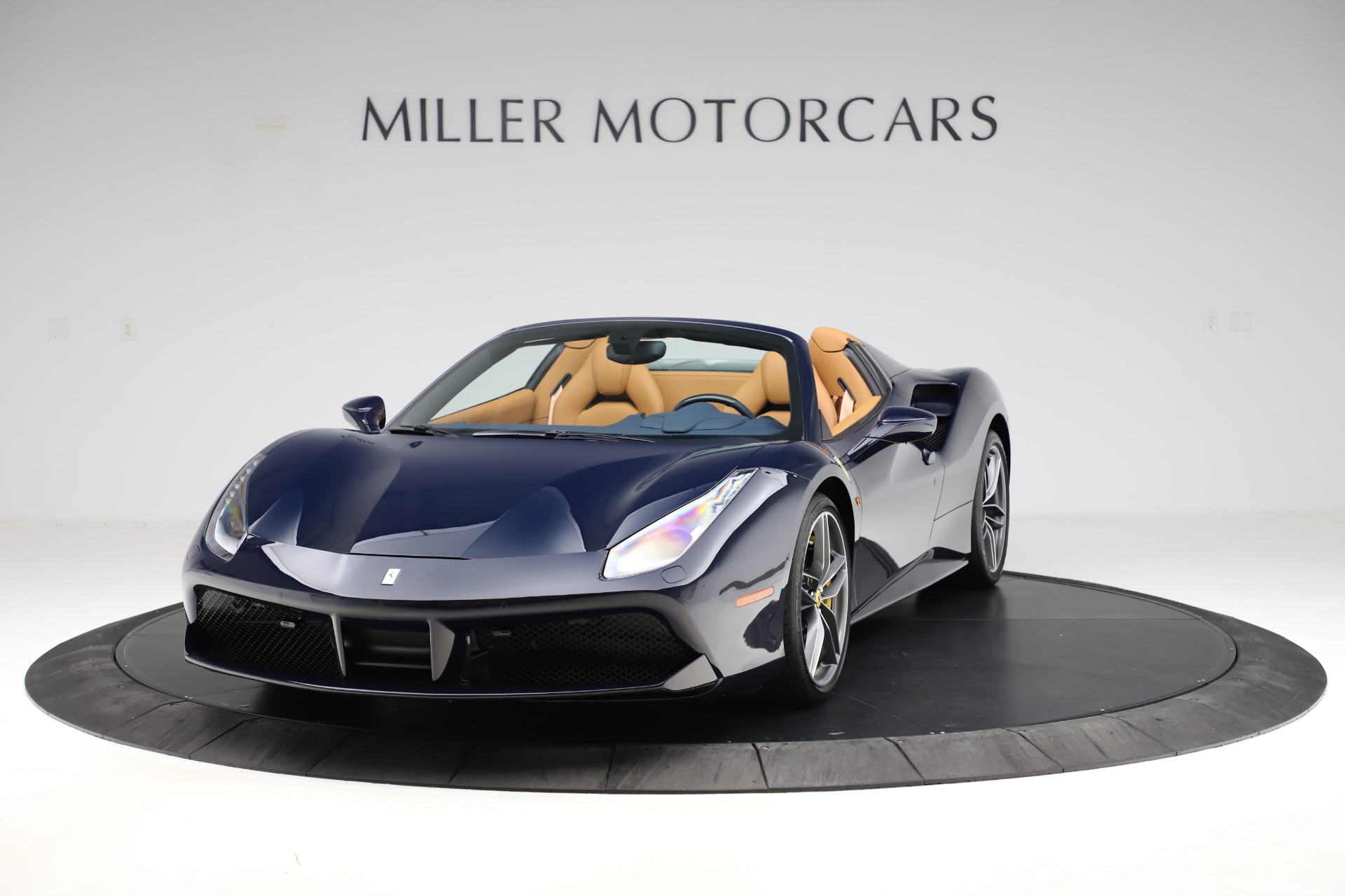 Used 2018 Ferrari 488 Spider for sale Call for price at Bentley Greenwich in Greenwich CT 06830 1