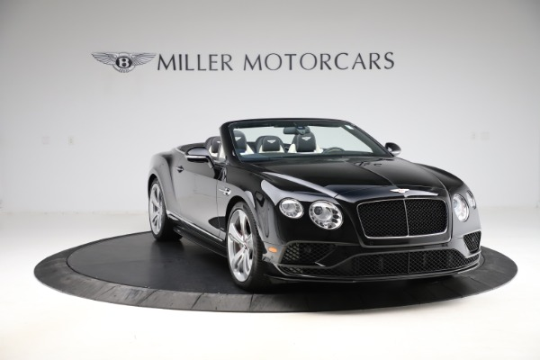 Used 2017 Bentley Continental GTC V8 S for sale $159,900 at Bentley Greenwich in Greenwich CT 06830 11