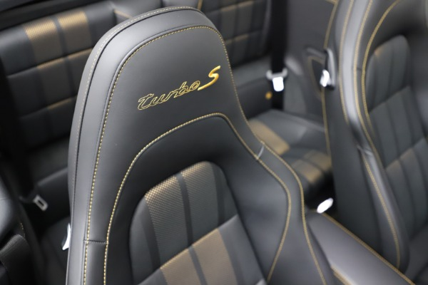 Used 2019 Porsche 911 Turbo S Exclusive for sale $249,900 at Bentley Greenwich in Greenwich CT 06830 24