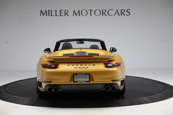 Used 2019 Porsche 911 Turbo S Exclusive for sale $249,900 at Bentley Greenwich in Greenwich CT 06830 6