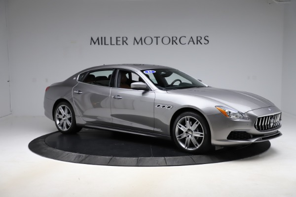 Used 2017 Maserati Quattroporte S Q4 GranLusso for sale Sold at Bentley Greenwich in Greenwich CT 06830 10