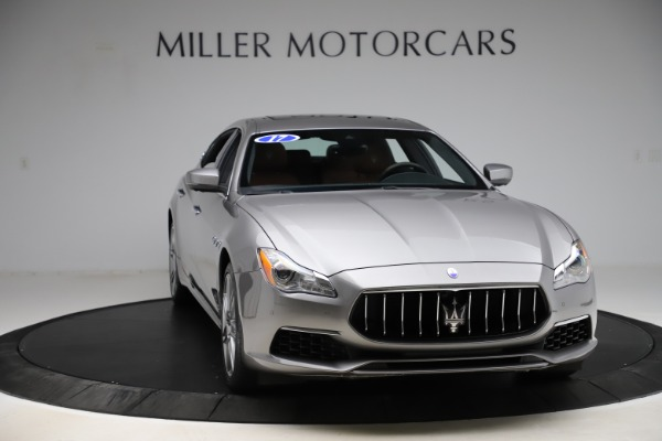 Used 2017 Maserati Quattroporte S Q4 GranLusso for sale Sold at Bentley Greenwich in Greenwich CT 06830 11
