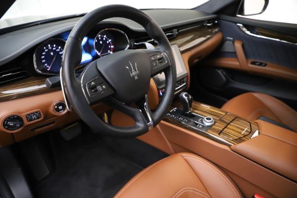 Used 2017 Maserati Quattroporte S Q4 GranLusso for sale $59,900 at Bentley Greenwich in Greenwich CT 06830 13