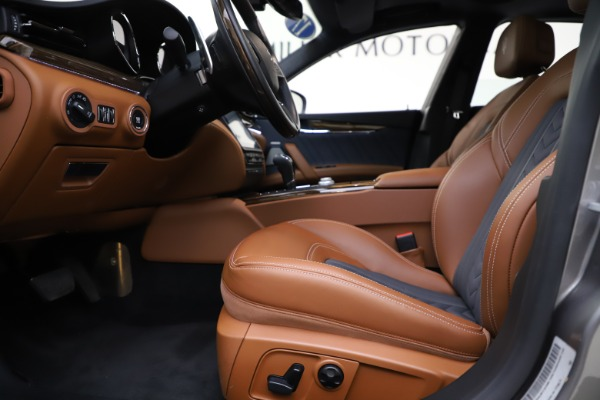 Used 2017 Maserati Quattroporte S Q4 GranLusso for sale Sold at Bentley Greenwich in Greenwich CT 06830 14
