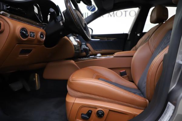 Used 2017 Maserati Quattroporte S Q4 GranLusso for sale $59,900 at Bentley Greenwich in Greenwich CT 06830 14