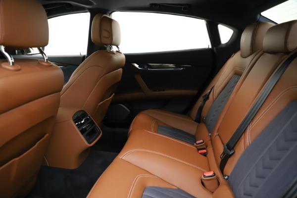 Used 2017 Maserati Quattroporte S Q4 GranLusso for sale $59,900 at Bentley Greenwich in Greenwich CT 06830 19