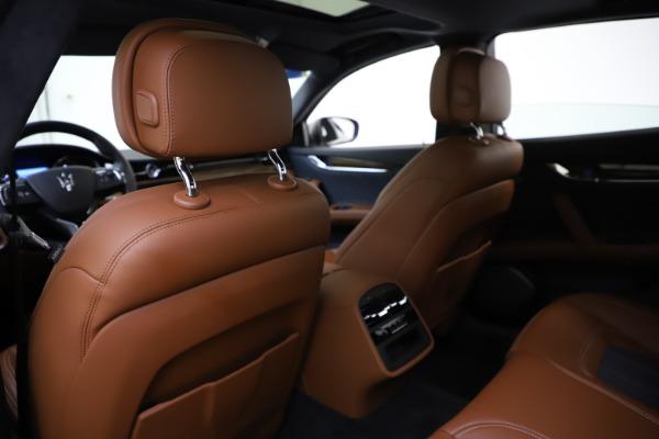 Used 2017 Maserati Quattroporte S Q4 GranLusso for sale $59,900 at Bentley Greenwich in Greenwich CT 06830 20